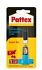 Secondelijm Pattex Super Gel/tube 3gram