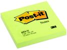 Notitieblok Post-It 76x 76mm neon gr/pk6