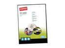 Etiket SPLS I 117mm CD glossy wt/pk200