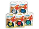 Tape Dymo LTAG POLY 12x4 METAL SLV