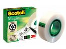 Plakband magic Scotch 810 19mmx33m/pk6rl