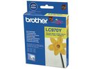 Inkjet Brother LC-970Y geel