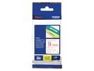 Tape P-Touch TZ-222 9mm rood op wit