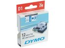 Tape Dymo 45011 12mm blauw/transparant