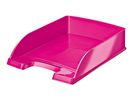 Brievenbak Leitz Plus WOW roze metallic