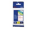 Tape P-Touch TZ-232 12mm rood op wit