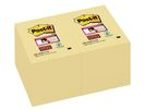 Notitieblok Super Sticky 47,6x76 gl/pk12