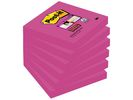Notitieblok SuperSticky 76x76 fuchsia/p6