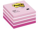 Notitieblok Post-It 76x76 pastel rz/450v