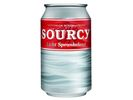 Mineraalwater Sourcy rood 33cl/pk24