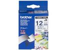 Tape P-Touch textiel TZ 12mm blauw/wit