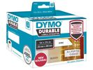 Label Dymo Durable 25x89mm 2x350