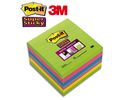 Notitieblok Super Sticky 100x100/pk6x90v
