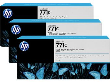 3-PACK HP B6Y37A NR 771 PHOTO ZW/PK3