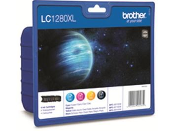 Inkjet Brother LC-1280XLVALBP B/CMY/pk4