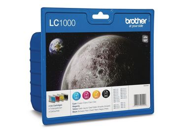 Inkjet Brother LC-1000VALBP Value/pak 4