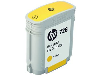 CARTR. HP 728 YELLOW 40ML