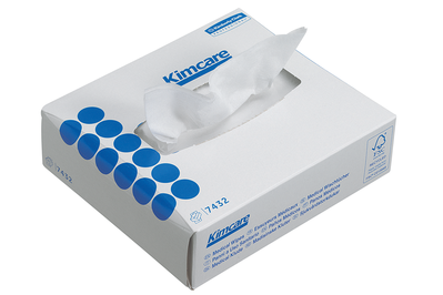 KIMCARE Medical Wipes, Intergevouwen