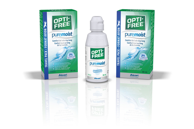 OPTI-FREE PureMoist MPDS travel pack